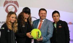 Latvija tenisistes šobrīd ir spēcīgas pretinieces, norāda Krievijas komandas kapteinis