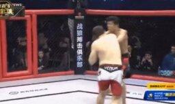Video: nesportiskās MMA cīņas - sasveicināšanās vietā nokauts