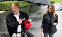 Sašutumu izraisa Trampa džentlmeņa necienīgā izturēšanās pret sievu