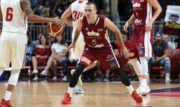 Евробаскет: Багатскис выбрал лишнего в составе сборной Латвии