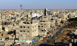 No Gazas joslas pret Izraēlu izšauta raķete