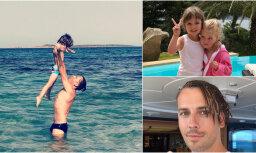 Privāti kadri: Galkina un Pugačovas vasaras atvaļinājums Kiprā