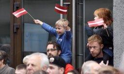 По случаю столетия Латвии создан клип о силе народа и ценностях