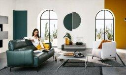 Gudra un krāsaina – 'Natuzzi Italia' jaunā mēbeļu kolekcija