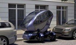 Изобретен автомобиль, умеющий ездить боком и ужиматься в размерах