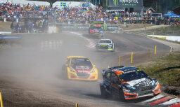 Baumanis arī Zviedrijā iekļūst 'World RX' posma pusfinālā; Nitišam uzvara 'Euro RX' ieskaitē