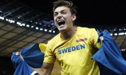 18 gadus vecais Duplantis kļūst par Eiropas čempionu kārtslēkšanā
