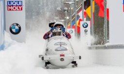 Ķibermaņa kvartets ar bronzu olimpiskajā Phjončhanā noslēdz Pasaules kausa sezonu