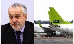 Šķēle par 'airBaltic' iegādi: man tādas naudas nav un nav bijis