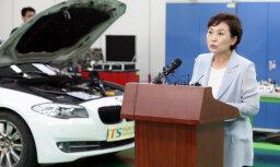 Pret BMW Dienvidkorejā iesniegta kriminālsūdzība par novēlotu automobiļu atsaukšanu