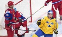 Дубль Мозякина не спас сборную России от поражения шведам в Евротуре