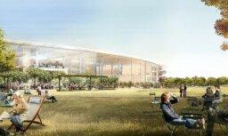 ФОТО: здание новой штаб-квартиры компании Apple