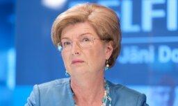 Лидер NSL не назвала возможных партнеров на выборах Сейма