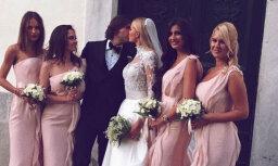 Foto: Krievu modeles un itāliešu miljonāra skaistās kāzas