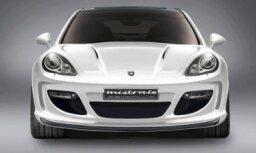 'Gemballa' pirmais piedāvā pārveidojumus 'Porsche Panamera'