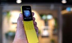 Foto: Latvijā prezentēti 'Nokia' jaunākie viedtālruņi un klasiskā '8110' reinkarnācija