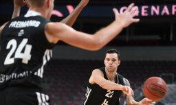 'VEF Rīga' basketbolisti pagarinājumā uzvar 'Jūrmalu'; 'Ogre' joprojām nesakauta