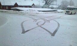 Sveiciens Valentīna dienā no Balvu autoparka