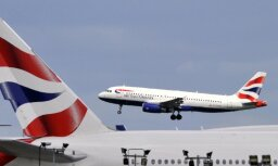 Под Ригой развернулся и вернулся обратно в Лондон самолет компании British Airways