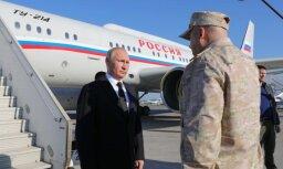 Putins negaidītā vizītē Sīrijā paziņo par karaspēka izvešanu