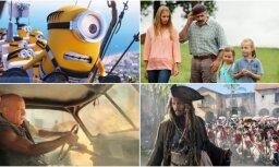 20 populārākās un ienesīgākās filmas Latvijā 2017. gadā