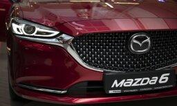 Латвийская премьера Mazda6