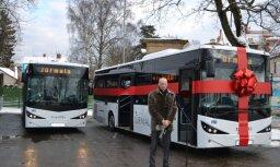 """JAS презентовало новые благоприятные для окружающей среды автобусы """"ISUZU CITIBUS"""""""
