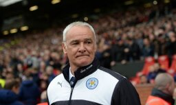 Anglijas premjerlīgas čempione 'Leicester City' atbrīvo no amata galveno treneri Ranjēri
