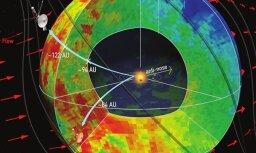 Определена форма пузыря Солнечной системы