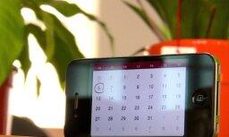 Francijas firmas izstrādāta plēvīte uzlādē mobilo tālruni ar saules enerģiju