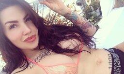 Seksīgā Lee iepriecina ar pikanti vasarīgiem foto