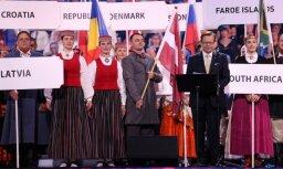 Foto: Paziņoti 'Nāciju Grand Prix Rīga 2017' un 3. Eiropas koru olimpiādes uzvarētāji