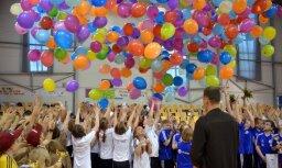 Jūrmalas sākumskolas 'Taurenītis' sporta skolotāja: kustības uzlabo domāšanu