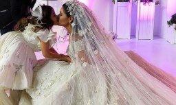 Foto: Krievijas piektā bagātākā oligarha krustmeitas neticami greznās kāzas