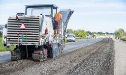 Для ремонта дорог в Тукумсском крае выделят 2,5 млн евро
