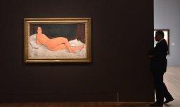 Modiljāni akts 'Sotheby's' izsolē pārdots par rekordaugstu summu