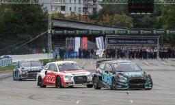'World RX' posms Rīgā: Baumanim piektā vieta, Solbergam trauma