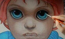 Noslēdzies konkurss par Tima Bērtona filmas 'Lielās acis' biļetēm!