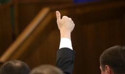 Visi saraksti iesniegti: uz vienu Saeimas deputāta vietu pretendē 15 kandidāti