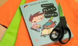 Joki un asprātības jaunā bērnu grāmatu sērijā 'Aguss un mošķi'