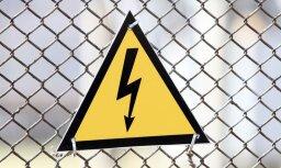 Turpina novērst vētras radītos elektrotīklu bojājumus; bez elektrības ap 6000 klientu