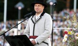Dziesmu un deju svētku koncerts ir mūsu tautas simbols, uzsver Vējonis