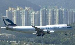 'Cathay Pacific' likvidēs 600 darbvietas