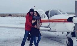 Foto: Neparasts Mīlētāju dienas bildinājums no putna lidojuma
