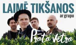 Noslēdzies konkurss par 'superkomplektu' - divām biļetēm uz 'Prāta vētras' koncertu Rīgā un tikšanos ar grupu
