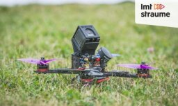 'ZeKurbulis': dronu sacensības – nākotnes sports ienāk Latvijā