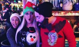 Pliks pupiņš un briedis: ļaudis metas Ziemassvētku neprātā