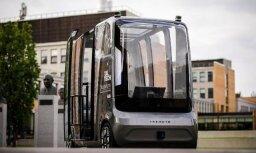 Igaunijā radīto pašbraucošo auto šonedēļ demonstrēs izstādē Ķīpsalā
