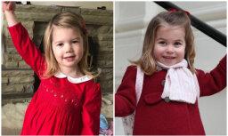Slavena kļūst mazulīte – britu princeses Šarlotes līdziniece