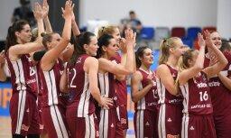 В Латвии пройдет часть матчей женского чемпионата Европы по баскетболу